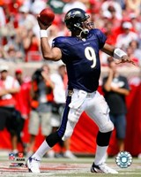 """Steve McNair - '06 / '07 Passing Action by Angela Ferrante - 8"""" x 10"""""""