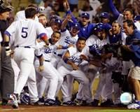 """Nomar Garciaparra - 2006 Home Run Celebration by Angela Ferrante - 10"""" x 8"""""""