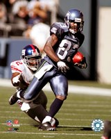 Deion Branch - '06 / '07 Action Fine Art Print