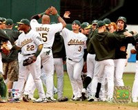 Athletics - 2006 ALDS / Game 3 Celebration Fine Art Print