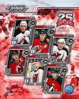 '06 / '07 Devils Team Composite Fine Art Print