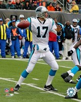 Jake Delhomme - '06 / '07 Action Fine Art Print