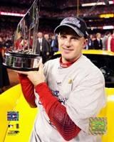 "David Eckstein -  2006 World Series MVP (#16) by Angela Ferrante - 8"" x 10"", FulcrumGallery.com brand"