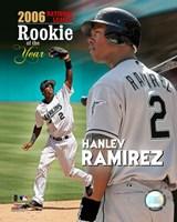 Hanley Ramirez - 2006 N.L. R.O.Y. Fine Art Print