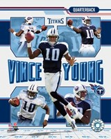 Vince Young - 2006 Portrait Plus Fine Art Print