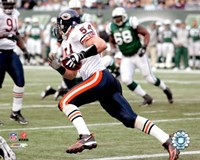 Brian Urlacher - '06 / '07 Action Fine Art Print
