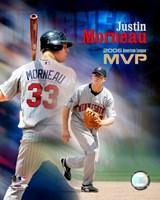 Justin Morneau - 2006 A.L. MVP Fine Art Print