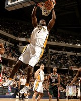 Jermaine O'Neal - '06 / '07 Action Fine Art Print