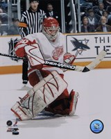 Chris Osgood - '06 / '07 Away Action Fine Art Print