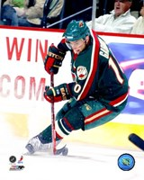 Marian Gaborik - '06 / '07 Home Action Fine Art Print