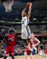 Rudy Gay - '06 / '07 Action Fine Art Print