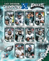 Eagles - 2006 NFC East Champions Composite Fine Art Print