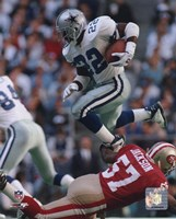 Emmitt Smith - 1995 Action Fine Art Print