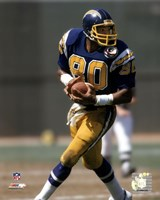 Kellen Winslow - 1984 Action Fine Art Print