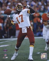 Doug Williams Super Bowl XXII 1988 Passing Action Fine Art Print