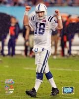 Peyton Manning SuperBowl XLI (#10) Fine Art Print