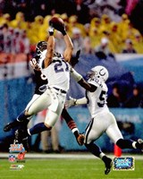 Bob Sanders Super Bowl XLI Action (#16) Fine Art Print