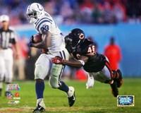 "Dominic Rhodes Super Bowl XLI / Action (#12) by Angela Ferrante - 10"" x 8"""