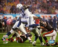 Reggie Wayne Super Bowl XLI Action (#22) Fine Art Print