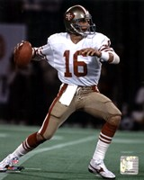 Joe Montana - Action Fine Art Print