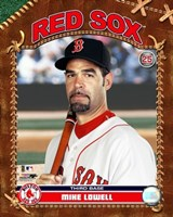 "Mike Lowell - 2007 Studio Plus by Angela Ferrante - 8"" x 10"""