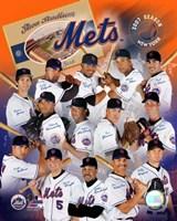 "2007 Mets Team Composite by Angela Ferrante, 2007 - 8"" x 10"""