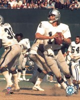 Ken Stabler - Action Fine Art Print