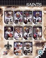 2006 - Saints Team Composite Fine Art Print