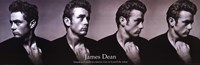 James Dean Dream As You Live - Slim Print Wall Poster