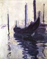 "Gondolas in Venice, 1910 by Claude Monet, 1910 - 16"" x 20"", FulcrumGallery.com brand"