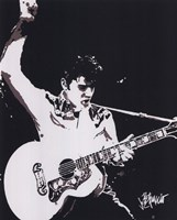 Elvis - Guitar (postercard) Wall Poster