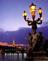 """Paris Bridge by Patrick Ingraud - 11"""" x 14"""""""