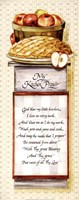 My Kitchen Prayer Framed Print