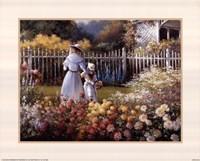 Victorian Garden Fine Art Print