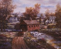 Old Red Mill Fine Art Print