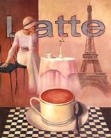 """Latte - Paris by T.C. Chiu - 16"""" x 20"""""""