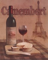 "Camembert - Tour Eiffel by T.C. Chiu - 8"" x 10"""
