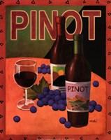 """11"""" x 14"""" Pinot Noir"""