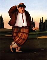 Golf Putt Fine Art Print