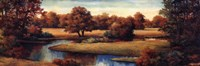 """Lakeside Serenity Panel by T.C. Chiu - 36"""" x 12"""""""