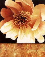 "Magnolia Gold Tile I by T.C. Chiu - 22"" x 28"""