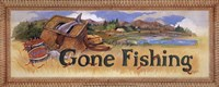 Gone Fishing Fine Art Print