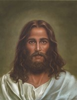 Head Of Christ Fine Art Print