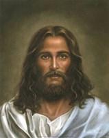 Head Of Christ Fine Art Print