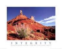 Integrity - Castle Rock Fine Art Print