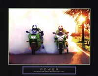 Power - Motorcycles Fine Art Print