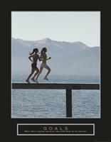Goals - Joggers Fine Art Print