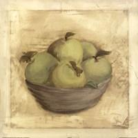 Bowl Of Apples Fine Art Print