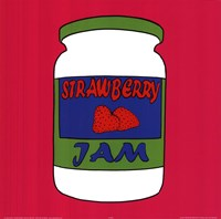 Strawberry Jam Fine Art Print