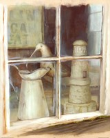 Window With Pitcher Fine Art Print